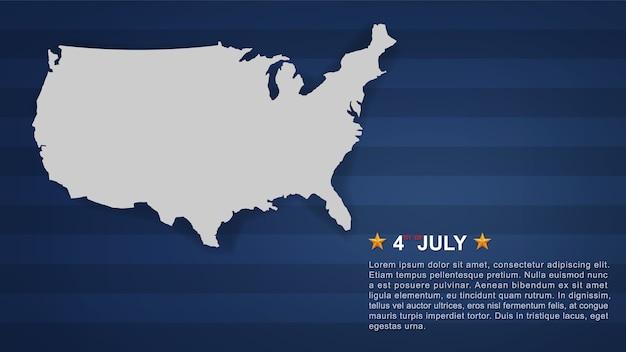 4 de julio de antecedentes.