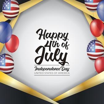 4 de julio día de la independencia de los estados unidos de america