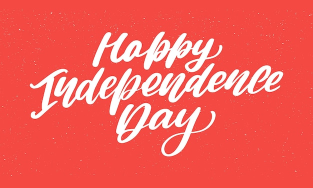 4 de julio fondo de letras del día de la independencia