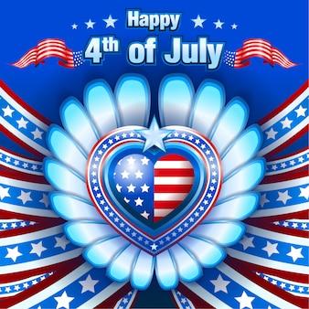4 de julio saludos 2