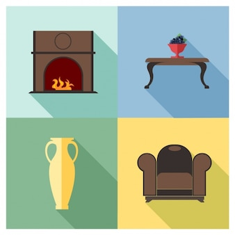 4 muebles