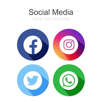 4 redes sociales