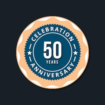 50 años de vector de diseño de celebraciones