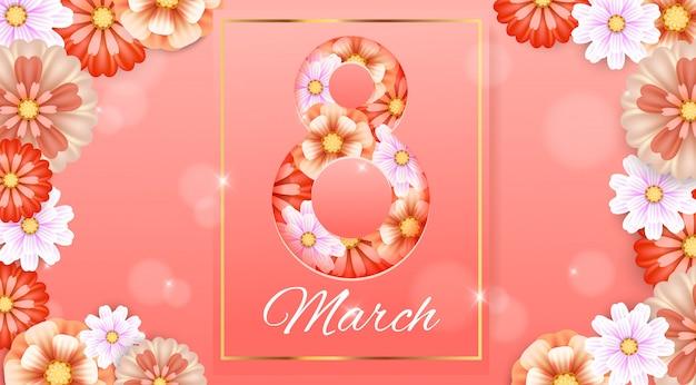 8 de marzo. dia de la mujer