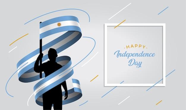 9 de julio declaracion de independencia de la argentina ilustracion