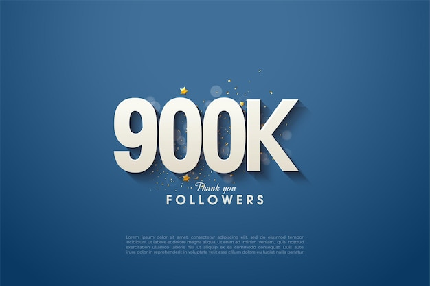 900.000 seguidores con un diseño sencillo y elegante