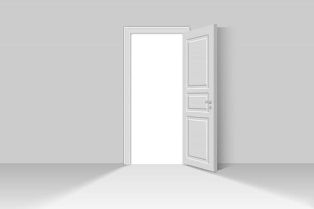 Abrir puerta realista