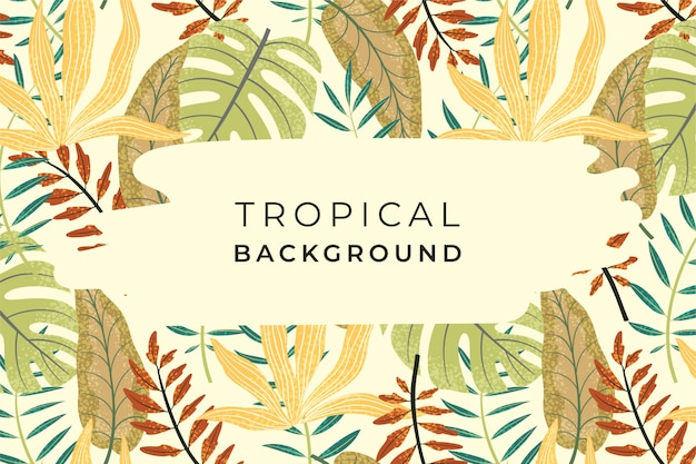 Abstact tropical
