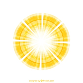 Abstracta luz solar