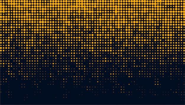 Abstracto y creativo de la plantilla de fondo de puntos de semitono circular