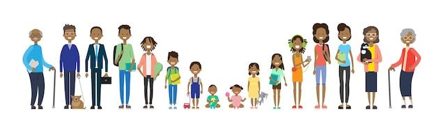 Abuelos afroamericanos
