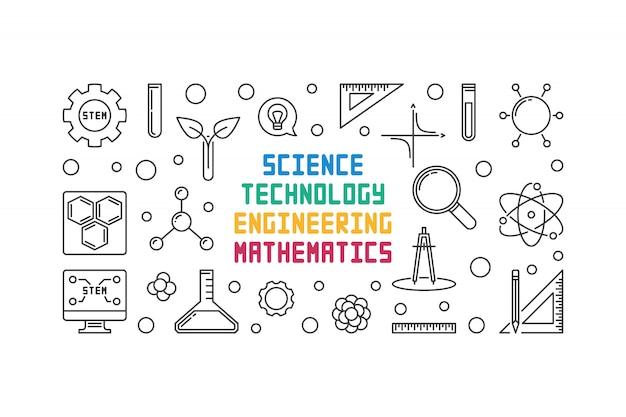 Accesorios de ciencia, tecnología, ingeniería y matemáticas.