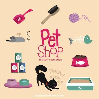 Accesorios y juguetes para las mascotas