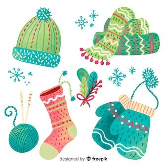 Accesorios lana navidad