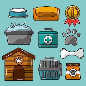 Accesorios para mascotas aseo y cuidado veterinario