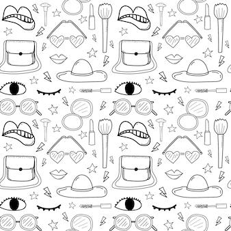 Accesorios moda de patrones sin fisuras