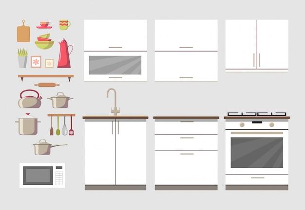 Acogedor interior de cocina