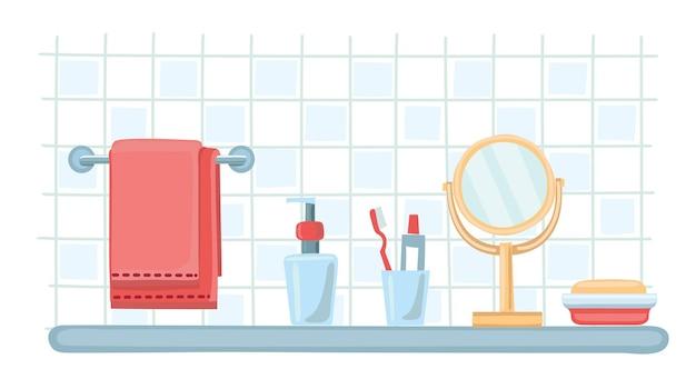 Acseesories un conjunto de plantillas de botellas de cosméticos.