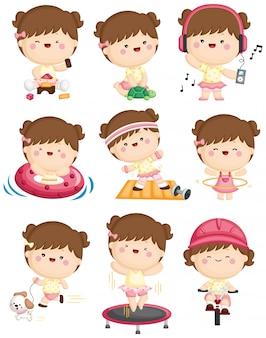 Actividad diaria de ejercicio