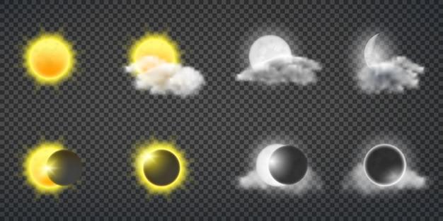 Actividad del sol o pronóstico del tiempo.