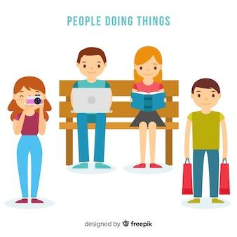 Actividades de la gente