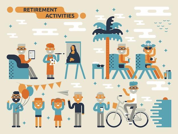 Actividades de jubilación
