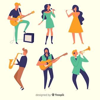 Actividades de música humana