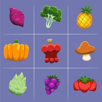 Activo de verduras