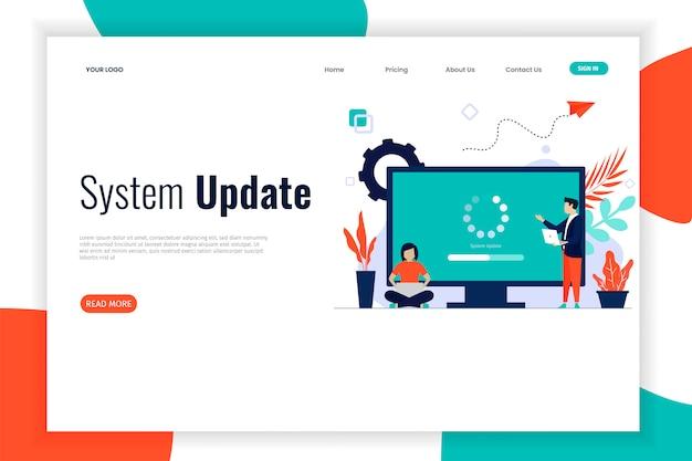 Actualización del sistema de diseño plano con personas