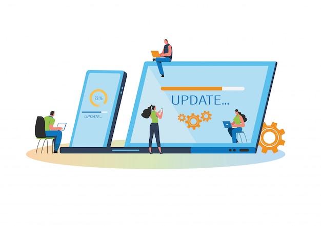 Actualizaciones del sistema Vector Premium