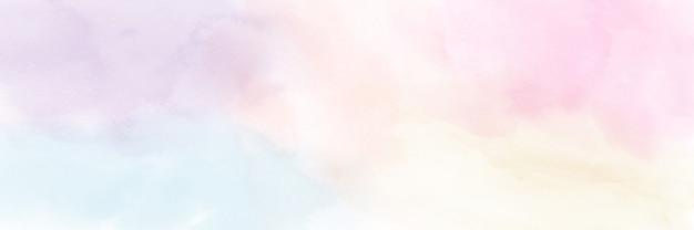 Acuarela abstracta de color pastel mínimo para el fondo.