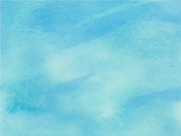 Acuarela azul brillante. acuarela abstracta