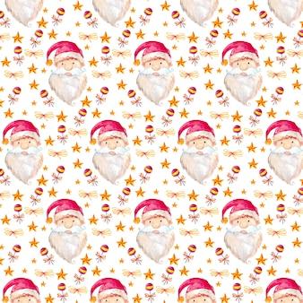Acuarela de fondo de navidad