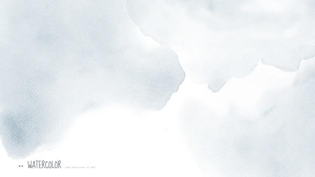 Acuarela gris claro abstracta para el fondo.