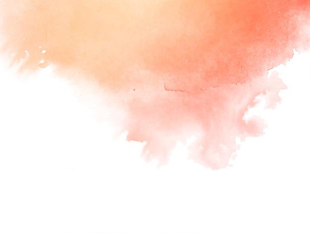 Acuarela suave abstracta
