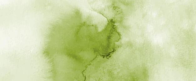 Acuarela verde claro abstracta pintada a mano para el fondo. manchas vectoriales artísticas utilizadas como elemento en el diseño decorativo de encabezados, carteles, tarjetas, portadas o pancartas. cepillo incluido en el archivo.