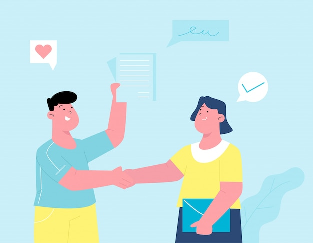 Acuerdo de contrato para empresas