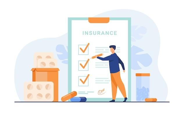 Acuerdo de seguro médico