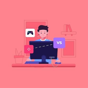 Adicción a los juegos en línea