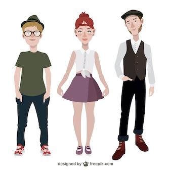 Adolescentes a la moda