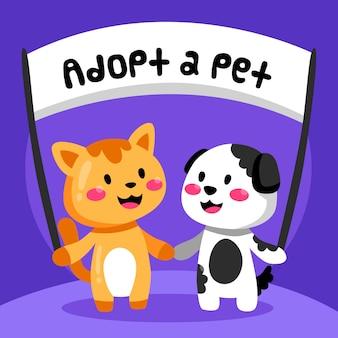 Adopta un concepto de mascota