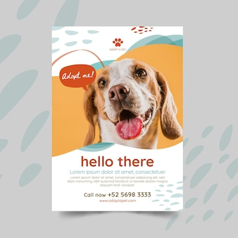 Adopta un póster de mascota