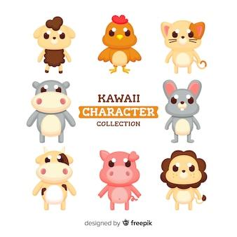 Adorables personajes kawaii