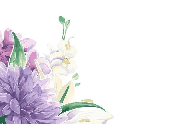 Adornos florales vintage