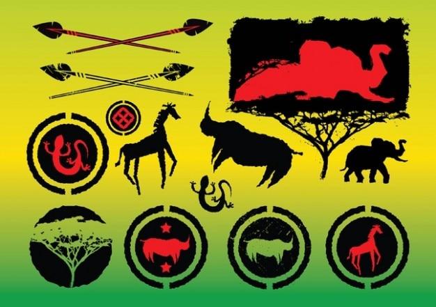 Africa vectores