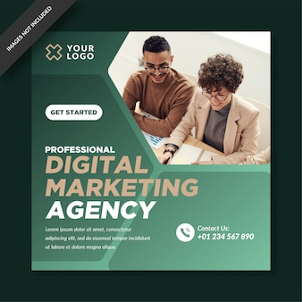 Agencia de marketing digital instagram post