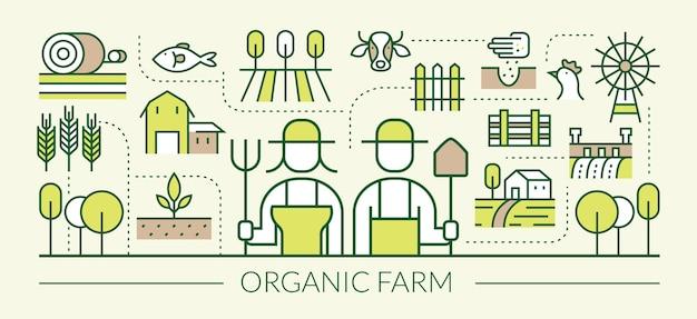 Agricultura, agricultores, plantación, jardinería