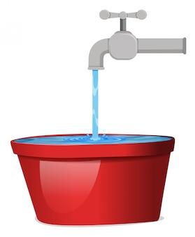 Un agua del grifo.