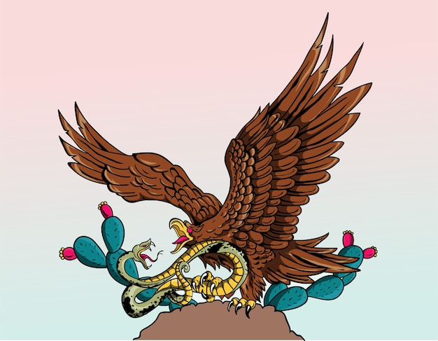 Aguila De Bandera Mexico