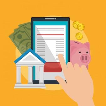 Ahorre dinero en línea con el teléfono inteligente